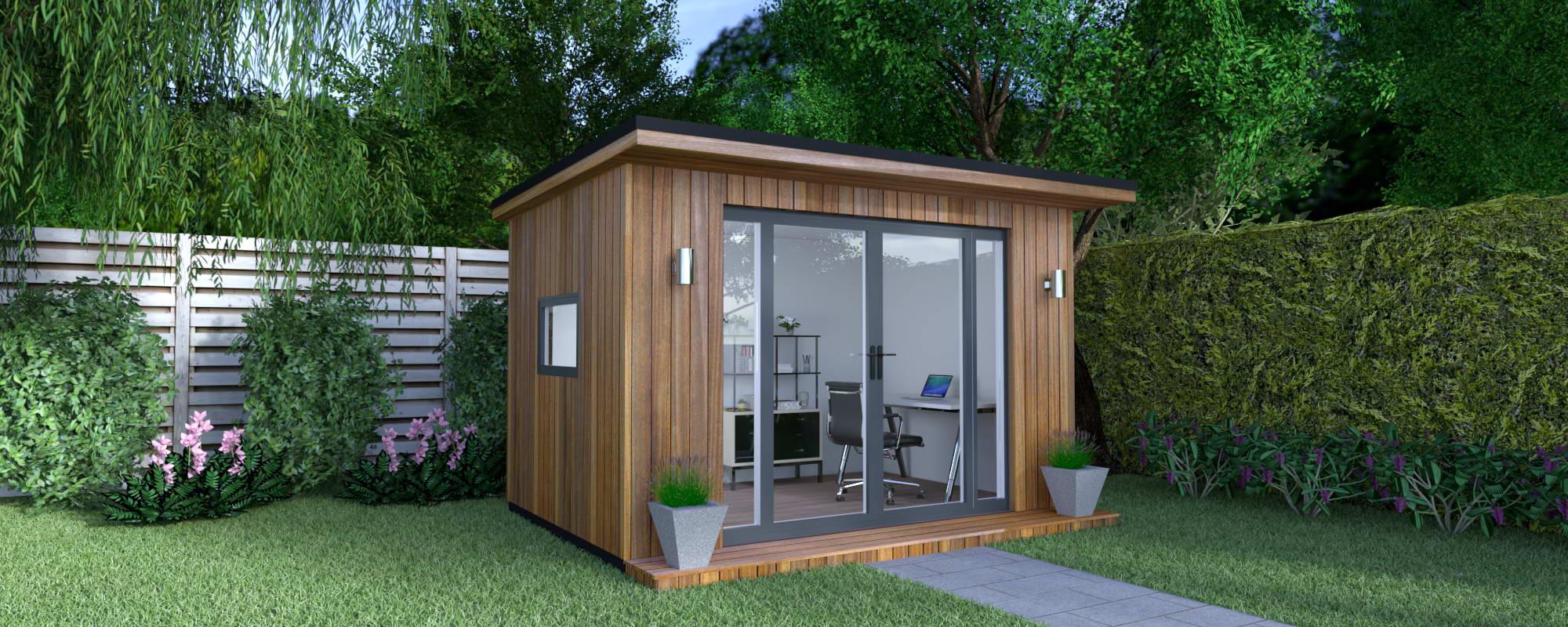 classic garden office